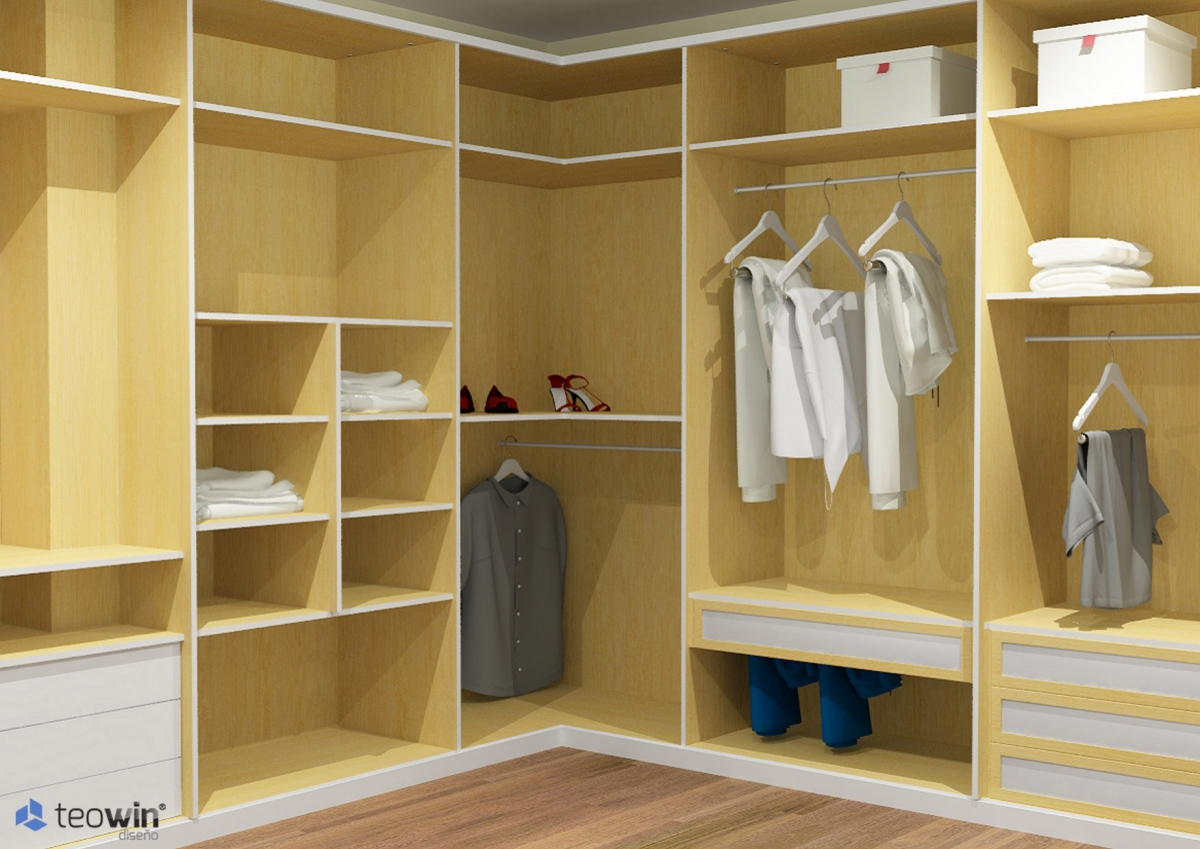 Armarios novacenter del sur for Interior closets modernos